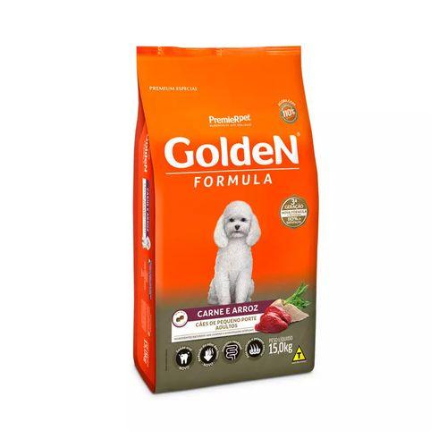 Ração Premier Golden Formula Cães Adultos Mini Bits Carne e Arroz