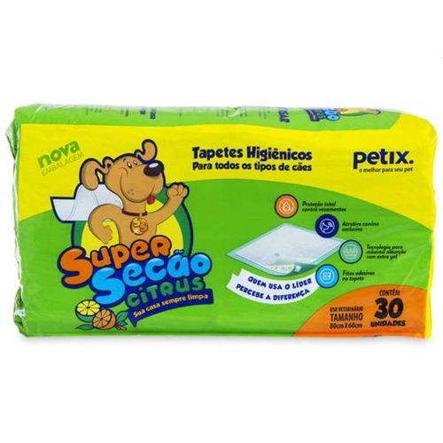 Tapete Higiênico Super Secão Citrus Petix - 60X80 cm