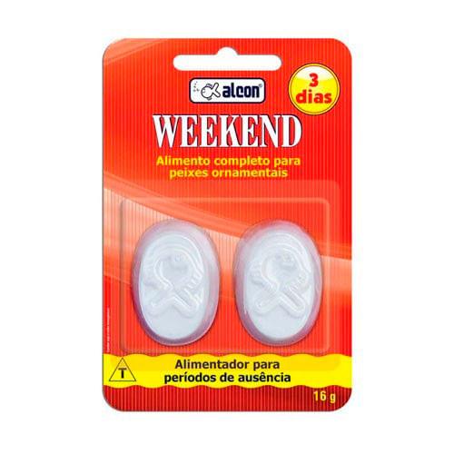 Ração Alcon Weekend Para Períodos De Ausência