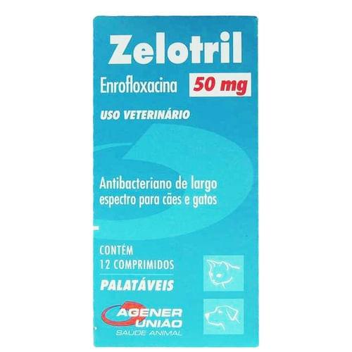 Ag Zelotril 50 Mg (Com 12)