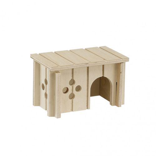 Casinha Para Hamster, Feita De Madeira