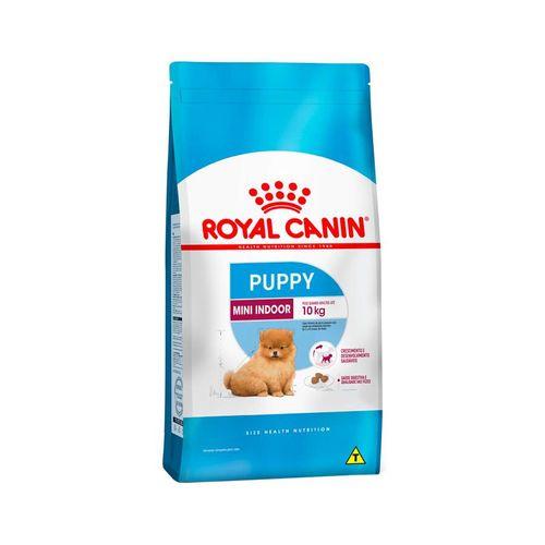 Ração Royal Canin Mini Indoor Puppy para Cães Filhotes de Raças Pequenas