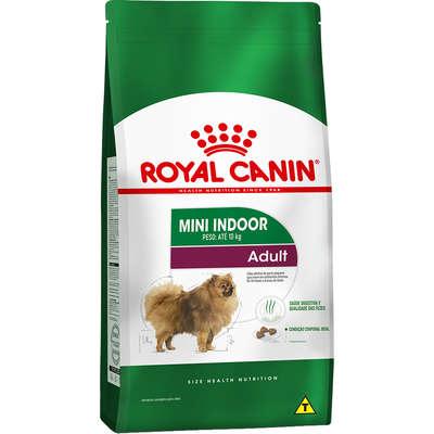 Ração Royal Canin Mini Indoor Adult para Cães Adultos de Raças Pequenas