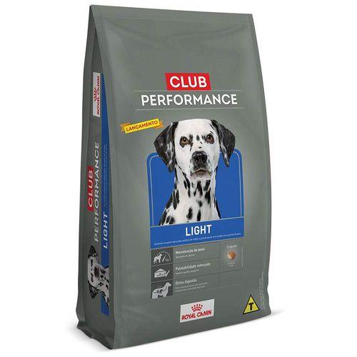 Ração Royal Canin Club Performance Light para Cães com Sobrepeso