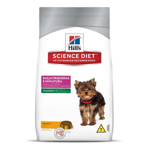 Ração Hills Science Diet Para Cães Filhotes Raças Pequenas E Mini