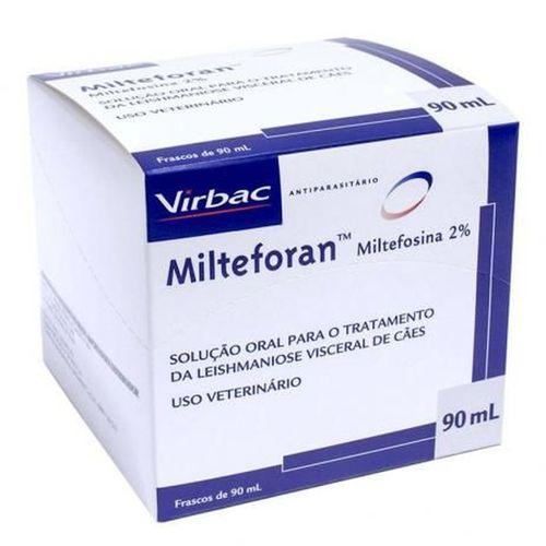 Solução Oral para Leishmaniose Visceral Canina Milteforan Virbac
