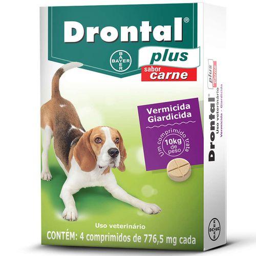 Vermífugo Bayer Drontal Plus Sabor Carne - Cães 10 Kg