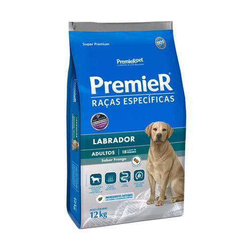 Ração Premier Pet Raças Específicas Labrador Adulto Frango
