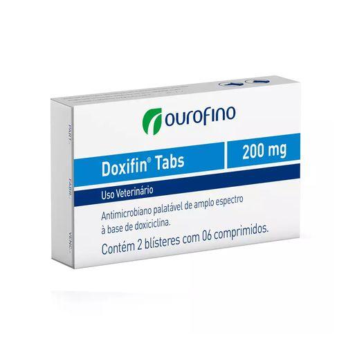 Antimicrobiano Ourofino Doxifin Tabs - 12 Comprimidos