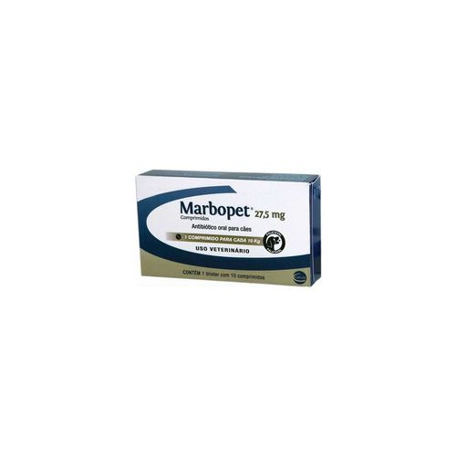 Antibiótico Marbopet 27,5 mg