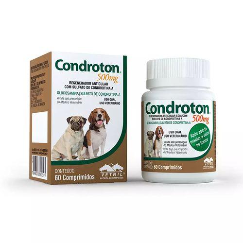 Regenerador Articular Vetnil Condroton - 60 Comprimidos