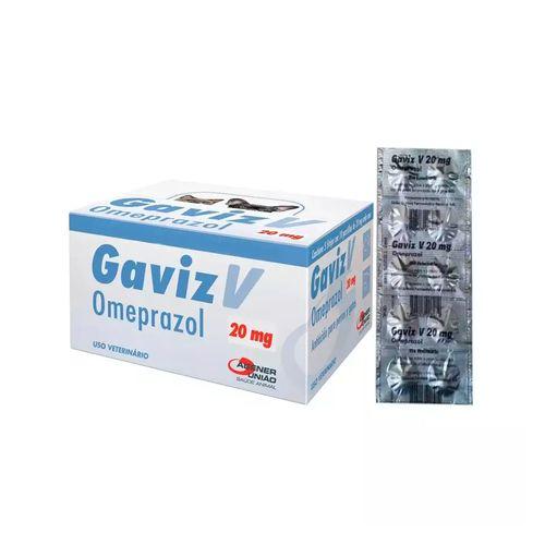 Antiácido Agener União Gaviz V Omeprazol - 10 Comprimidos