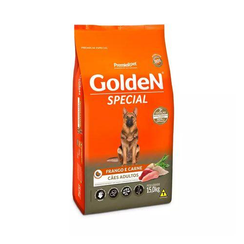 Ração Golden Fórmula Special Frango E Carne Cães Adultos