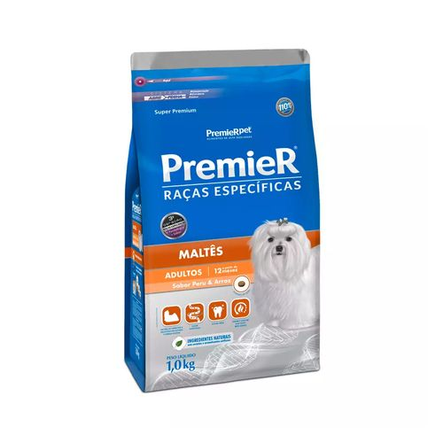 Ração Premier Pet Raças Específicas Maltês Adulto