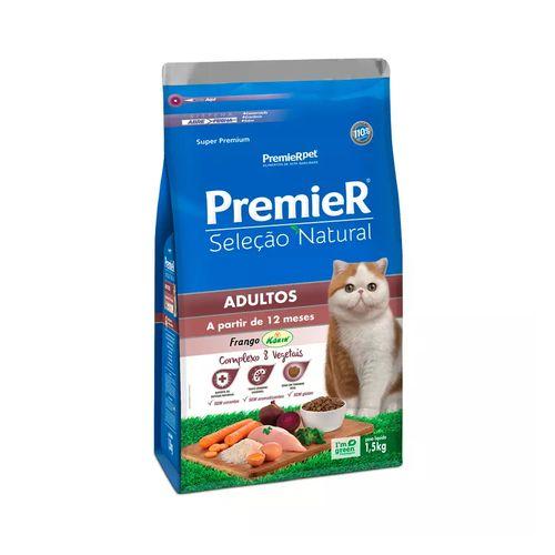 Ração Golden Premier Pet Seleção Natural para Gatos Adultos