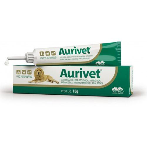 Suspensão Oleosa Otológica Aurivet Vetnil