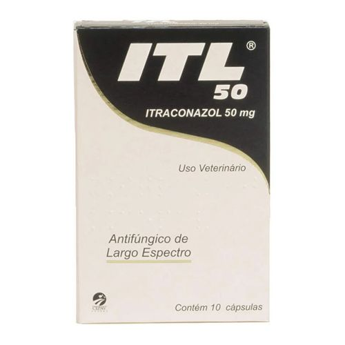 Antifúngico Itl Itraconazol Cepav