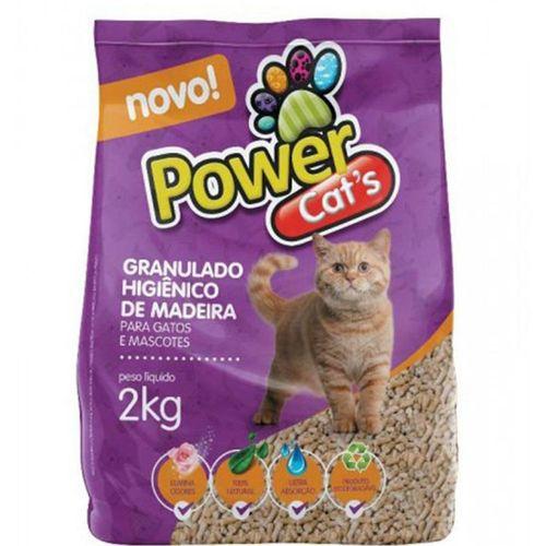 Granulado De Madeira Powercats