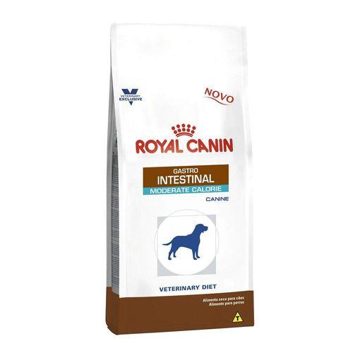 Ração Royal Canin Veterinary Gastro Intestinal Moderate Calorie - Cães Adultos