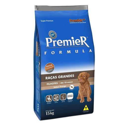 Ração Premier Pet Formula Cães Filhotes Raças Grandes e Gigantes Frango