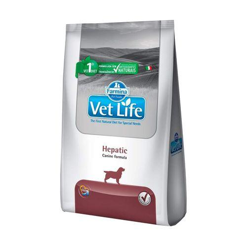 Ração Vet Life Natural Hepatic Para Cães Adultos