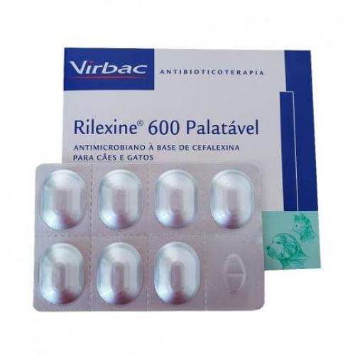 Antibiótico Virbac Rilexine Palatável