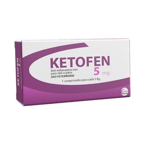 Anti-inflamatório Ketofen Ceva