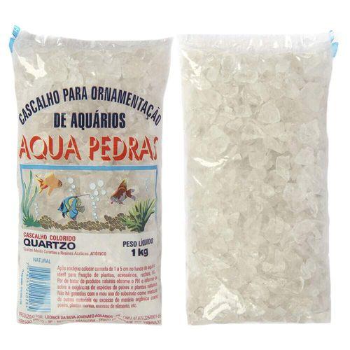 Cascalho Para Aquário Aqua Pedras Quartzo Natural Branco