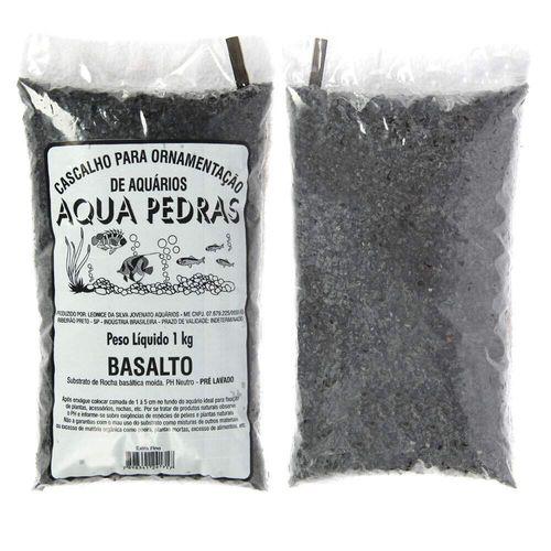 Substrato Para Aquários Aqua Pedras Basalto