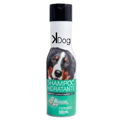 Shampoo e Condicionador K-Dog 2x1 para Cães e Gatos 500ml