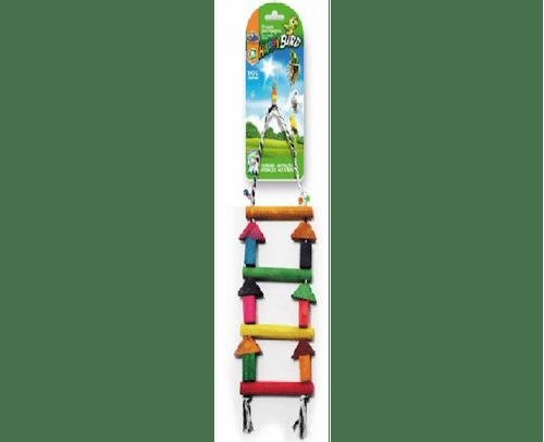 Brinquedo Papagaio Escada Colorida