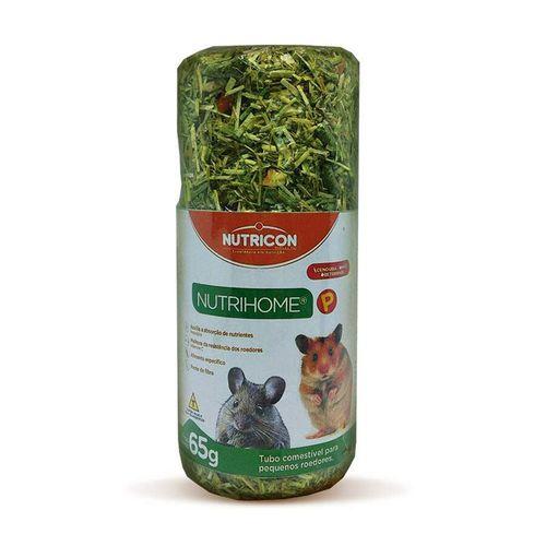 Ração Nutricon Pet Nutrihome Pra Hamsters Tubo