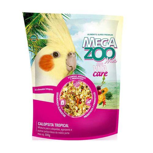 Ração Megazoo Mix Calopsitas Tropical