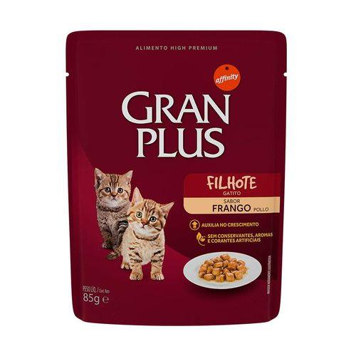 Ração Úmida GranPlus Para Gatos Filhotes Sachê