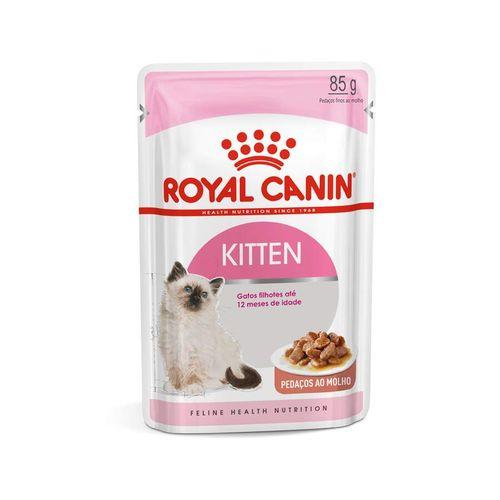 Ração Úmida Royal Canin Sachê Kitten - Gatos Filhotes
