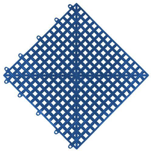 Estrado Piso 30x30x1,5 Flexivel Azul