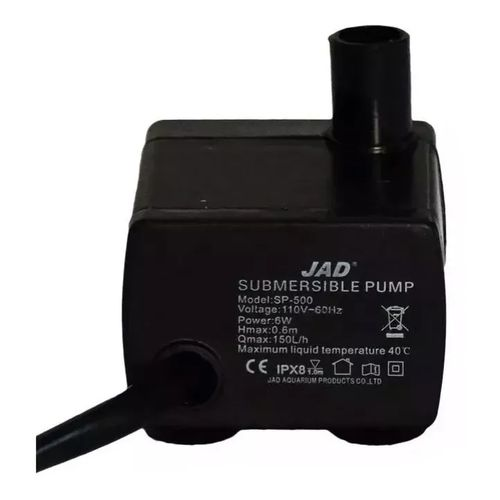 Bomba Submersa JAD SP-500 150L/H - 110V
