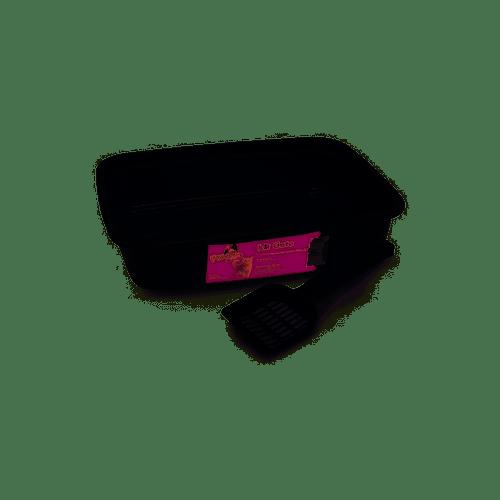 Kit Gato Black 2 Peças Bandeja+Pa Powerpets