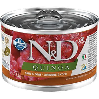 Alimento Úmido N&D Quinoa Gatos Adultos Arenque e Coco