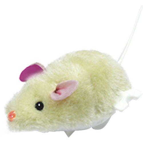 Brinquedo Ratinho Real De Corda The Pets