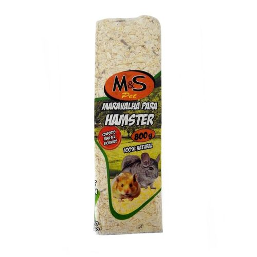 Maravalha Prensada Para Hamster M&s Pet