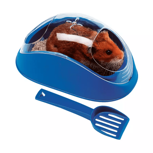 Banheiro Koky Pra Hamster Azul