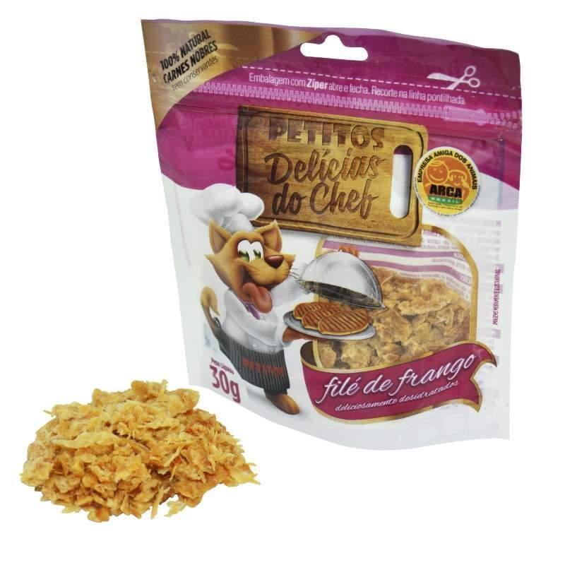 Snack-Petitos-Para-Gatos-Chef-Sabor-File-De-Frango