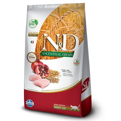 Ração N&D Ancestral Grain Gato Adulto Frango