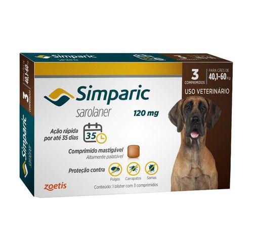 Antipulgas Simparic para cães - Zoetis