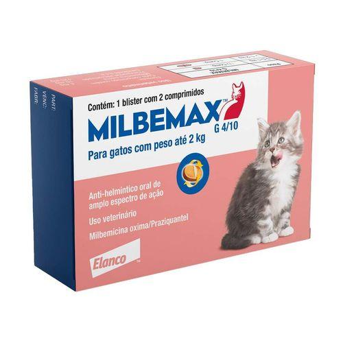 Vermífugo Milbemax para Gatos