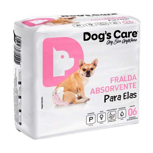 Fralda Higiênica Dogs Care Cães Fêmeas
