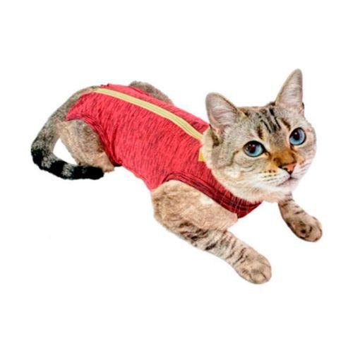 Roupa Cirúrgica Pet Med Para Gatos Duo Dry Rosa