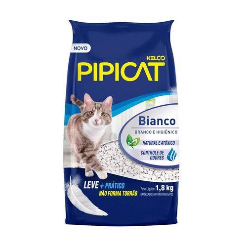 Areia Higiênica PipiCat Bianco para Gatos