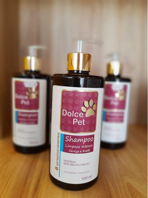 Dolce Pet Shampoo Limp Intensa Cereja & Avelã